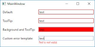 WPF Validation - Display errors to the user    NET Land