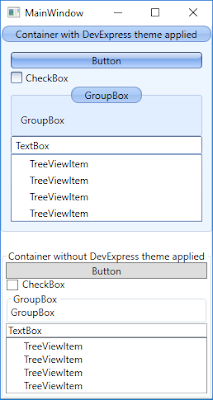 DevExpress WPF Themes - how to disable DevExpress theming on native